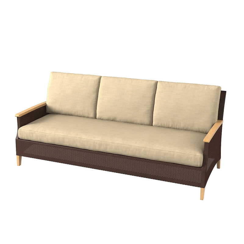 madeira double seater 3D model
