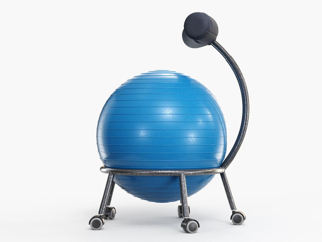 Yoga Ball Office Chair Model