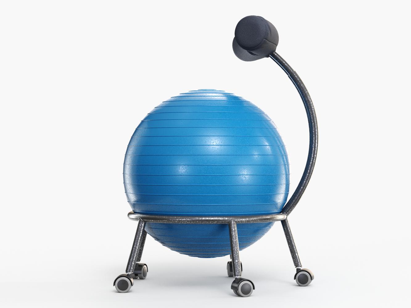 Modèle De Chaise Bureau Yoga Ball