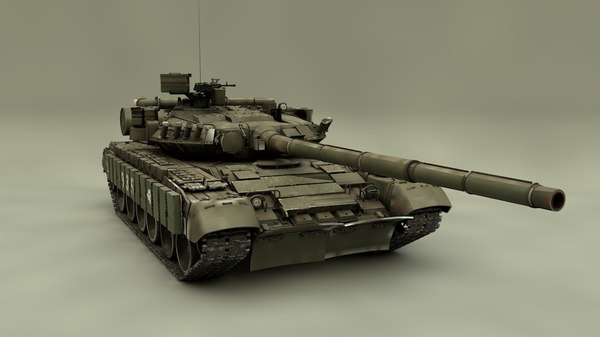 3D tank t-64 model