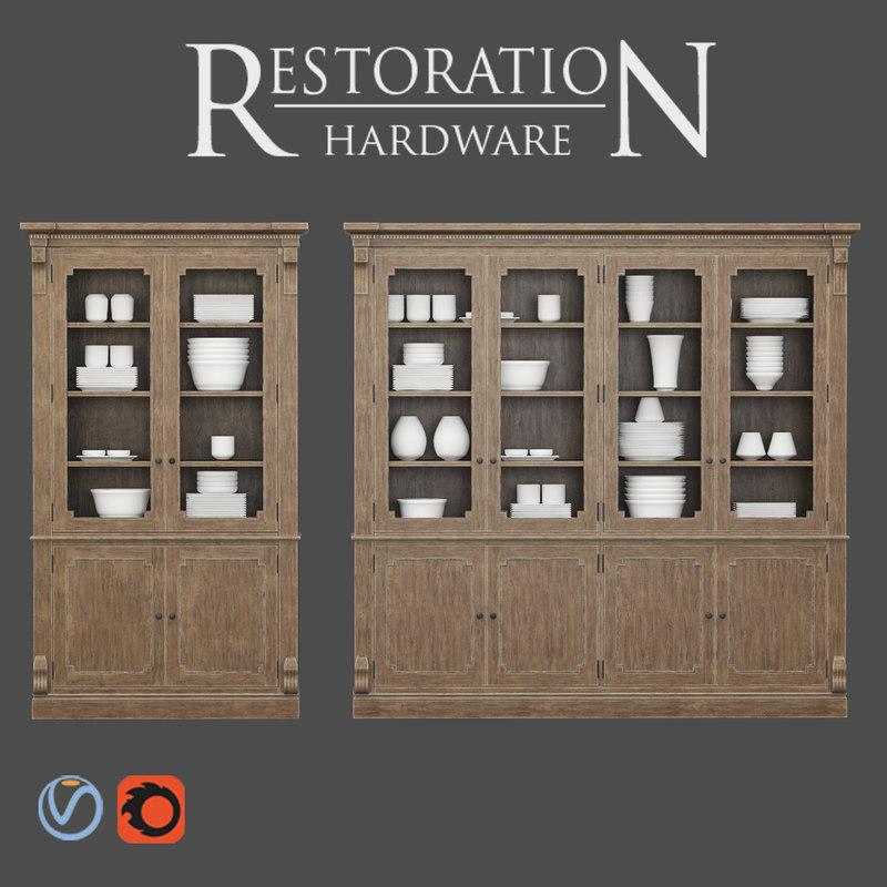 Restoration Hardware Hq: 3D Restoration Hardware St James Model