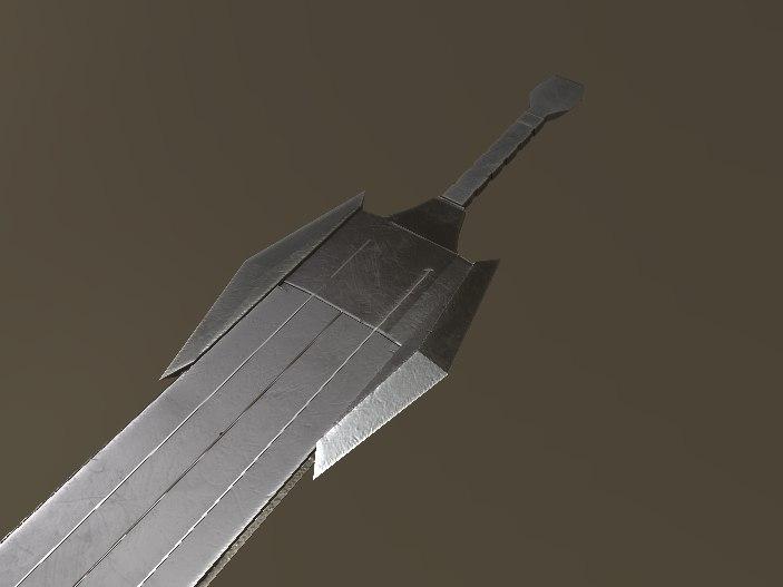 sword big model
