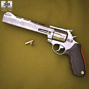 3D taurus raging bull model