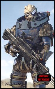 mass sniper rifle - model