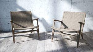 3D armchair marc newson model