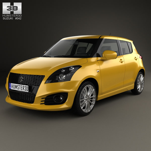 Suzuki Swift Sport: Suzuki Swift Sport 3D Model