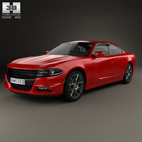3D model dodge charger ld