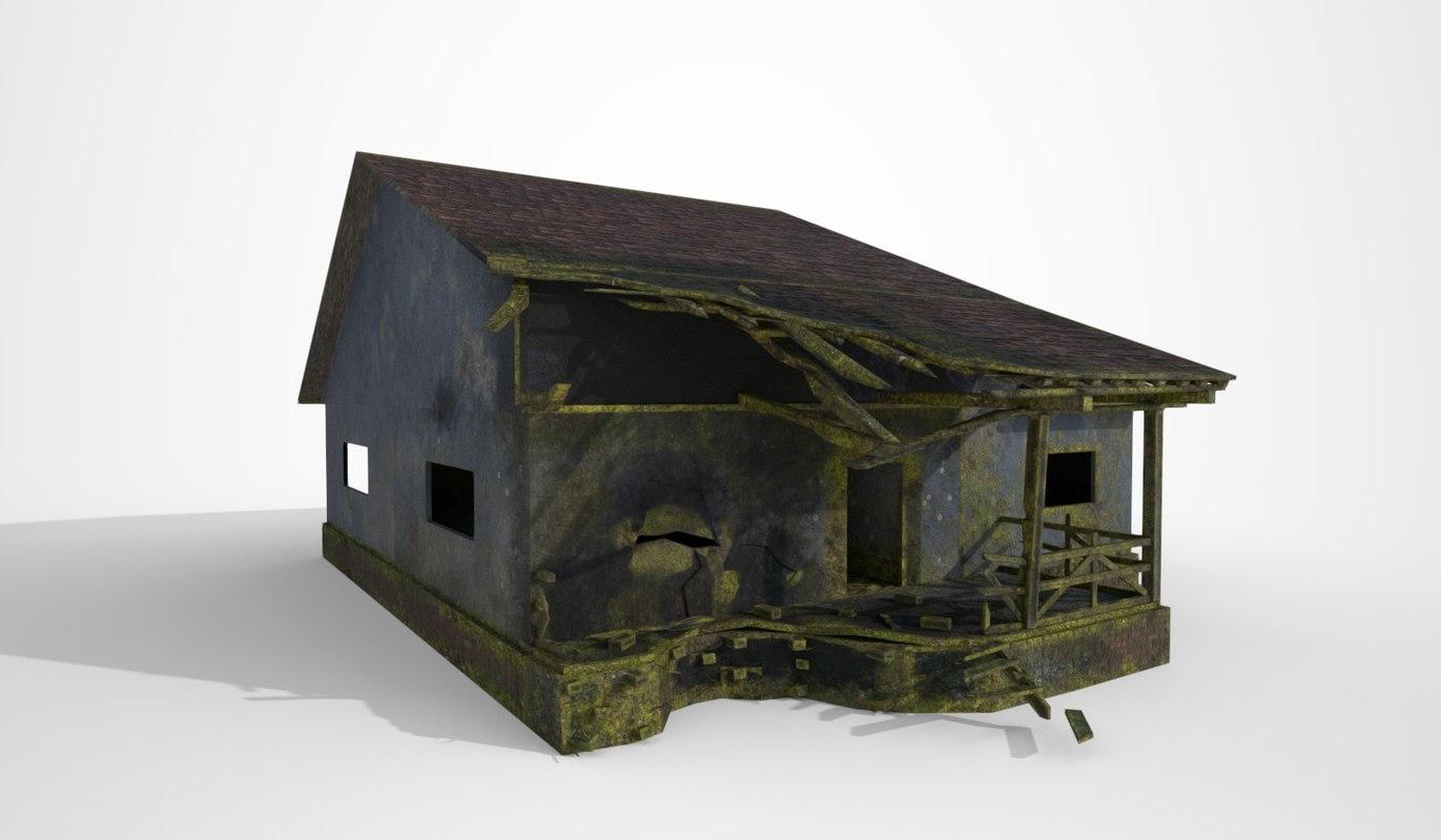 gaming house - 3D model