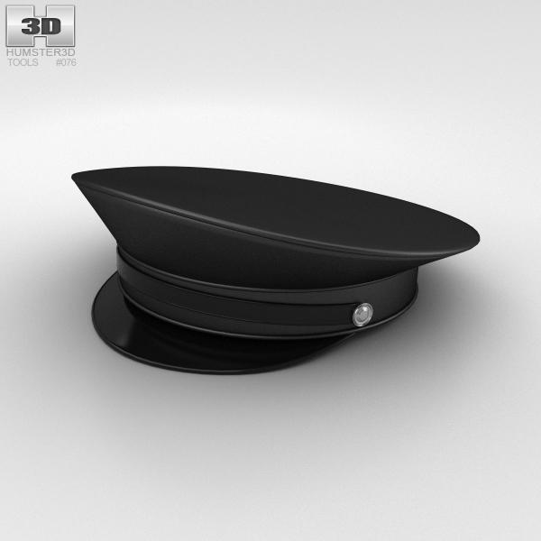 police hat uniform model