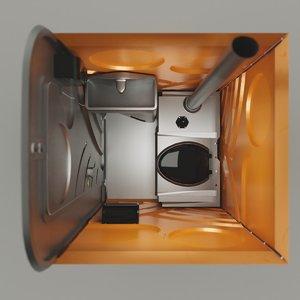 chemical toilet model