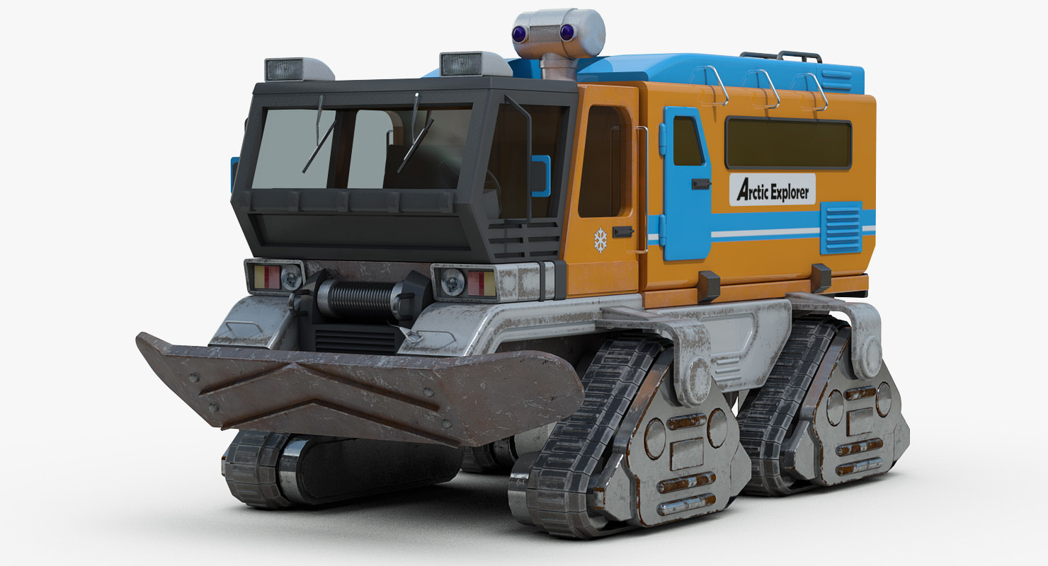 arctic explorer concept 3D
