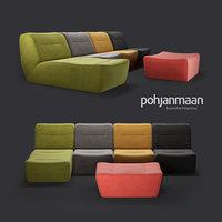 modular sofa arena pohjanmaan 3D