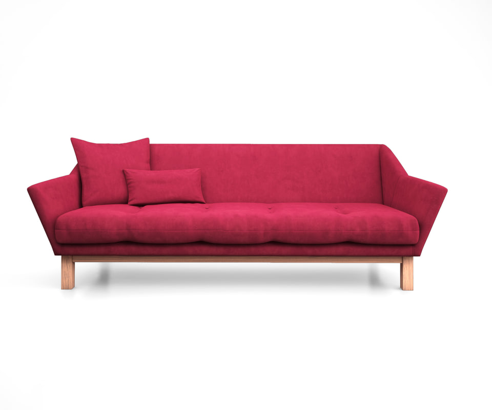 3D model astrid sofa gus modern interior