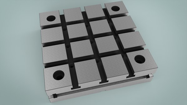 3D plate tool model