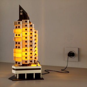 miniature nakagin capsule tower 3D