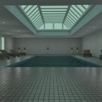 3D indoor pool