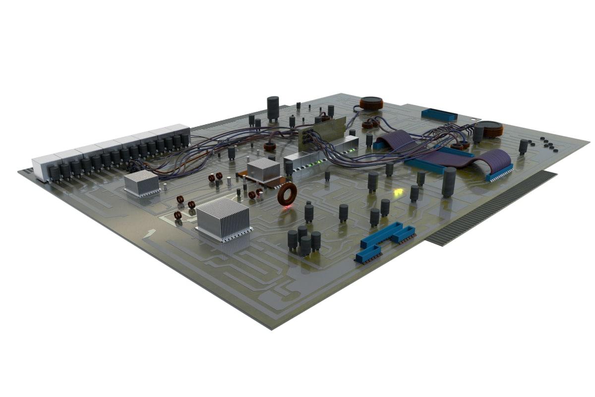 3D mainboard main board
