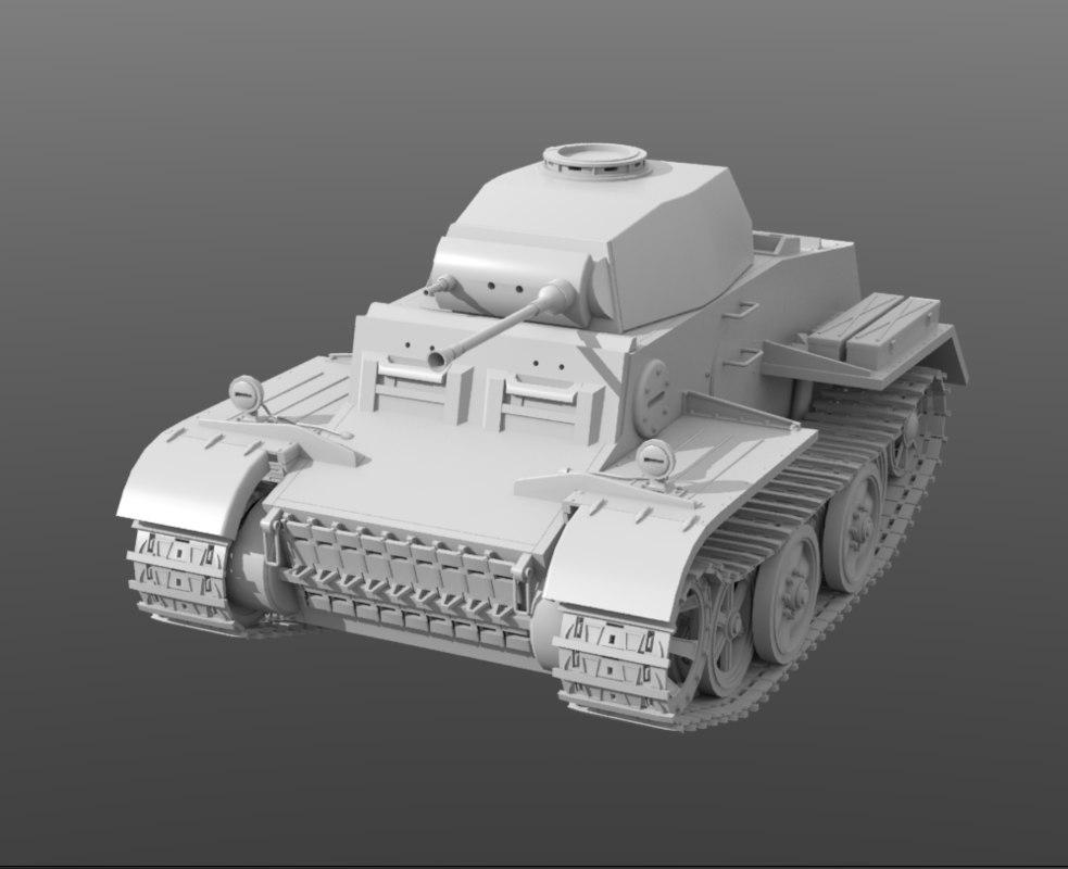 3D panzer 2 j