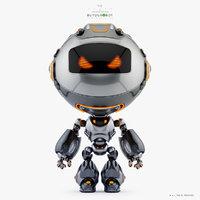 3D model unit robot
