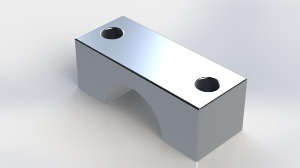 camshaft bearing cap 3D model