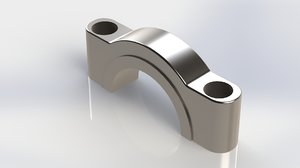 fork connecting rod conrod 3D