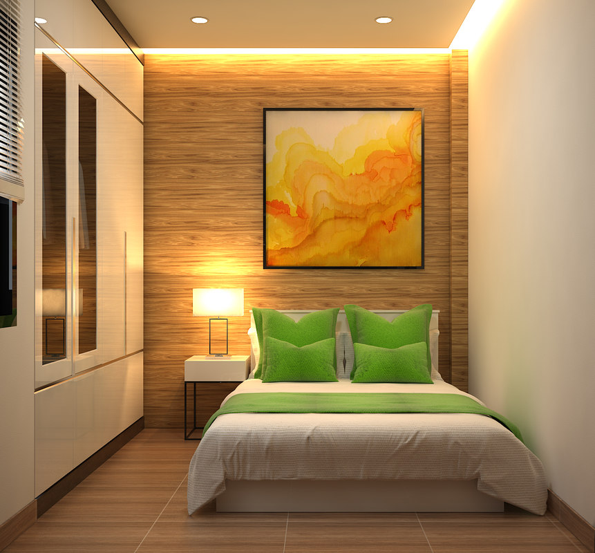 Bedroom design 3d model turbosquid 1238737 for Bedroom designs 3d model