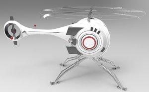 oblivion helicopter model