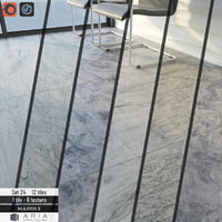 3D tile aria stone gallery model