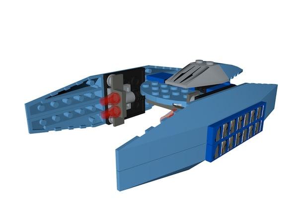 lego star wars 3D