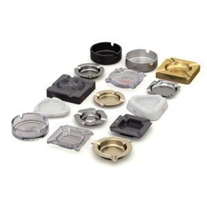 3D set ashtray