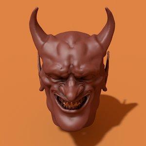 devil head 3D