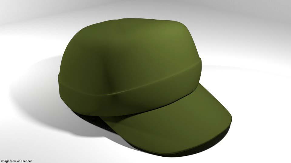 3D cap hat patrol