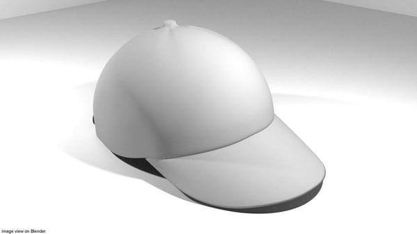 baseball hat cap 3D