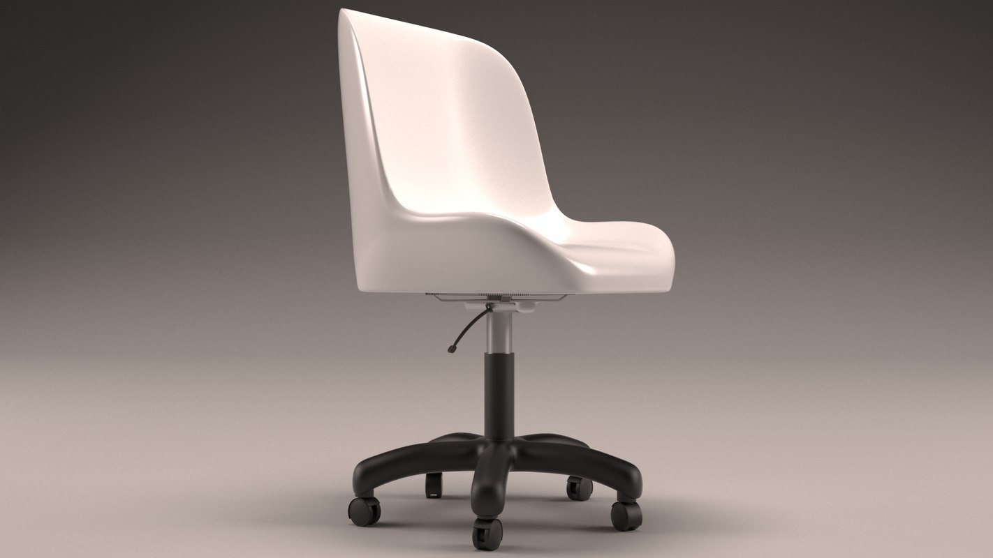 simplistic office chair model