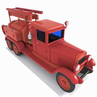 3D tank tanker truck