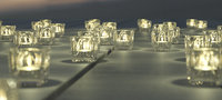 3D christmas bell candelite holder model