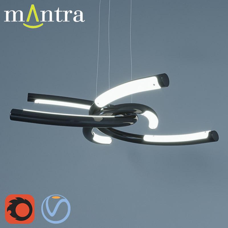 3D model mantra knot