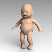 3D child toy model