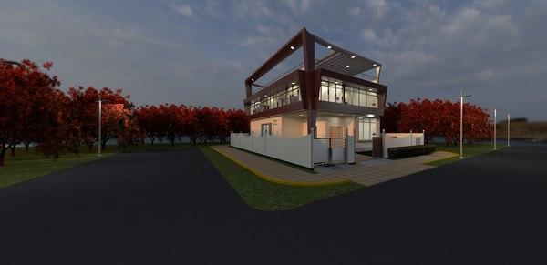 design house modern light model