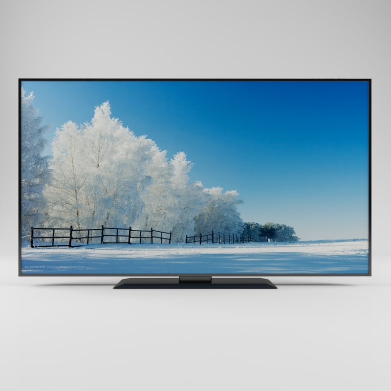 tv curved 3D