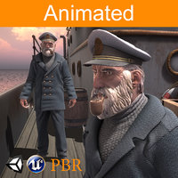 3D character captain