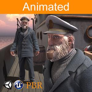 3D character captain