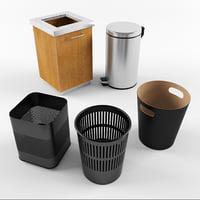 3D garbage bucket