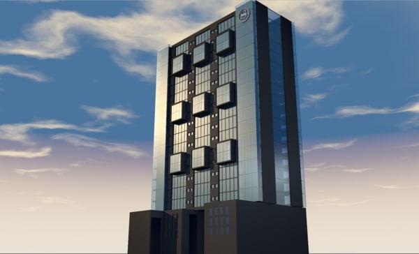 hotel sheraton queretaro 3D model