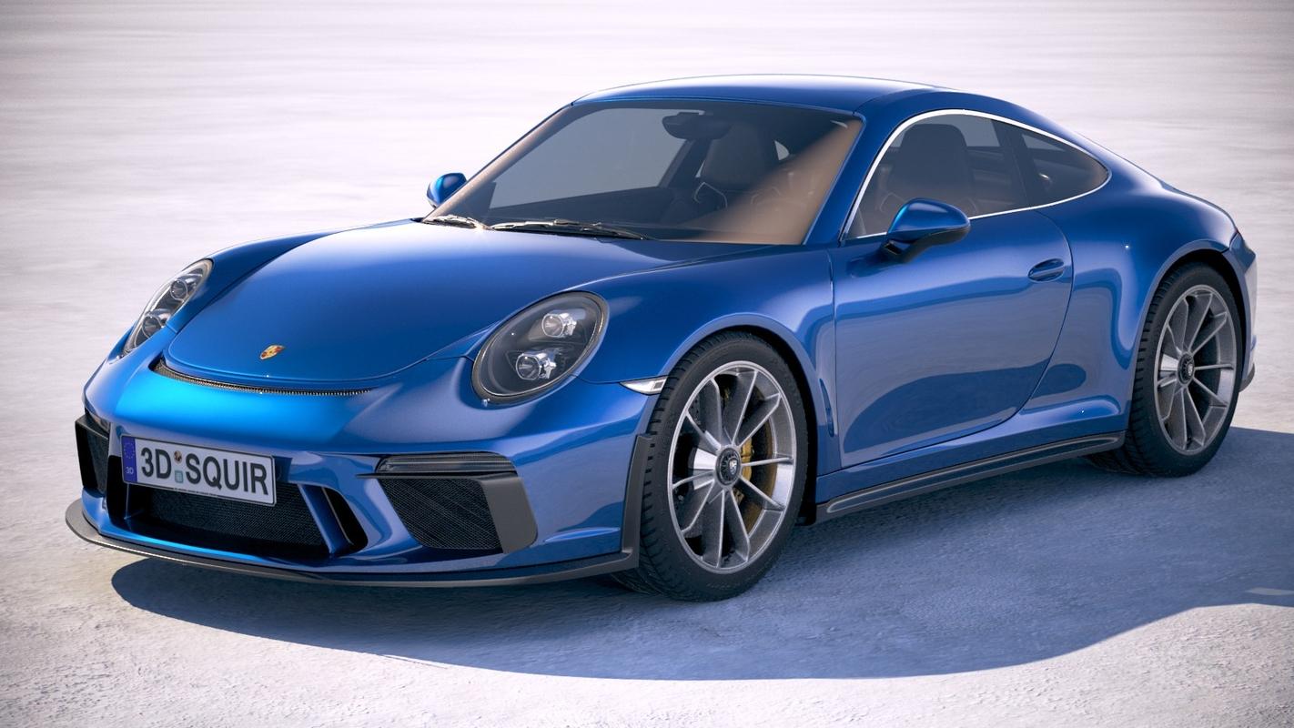 3D model porsche 911 gt3