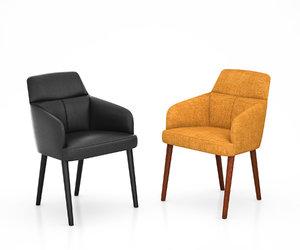 mono chair wittmann 3D