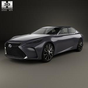 lexus lf-fc lf 3D model