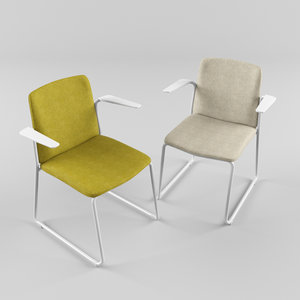3D ema chairs product model