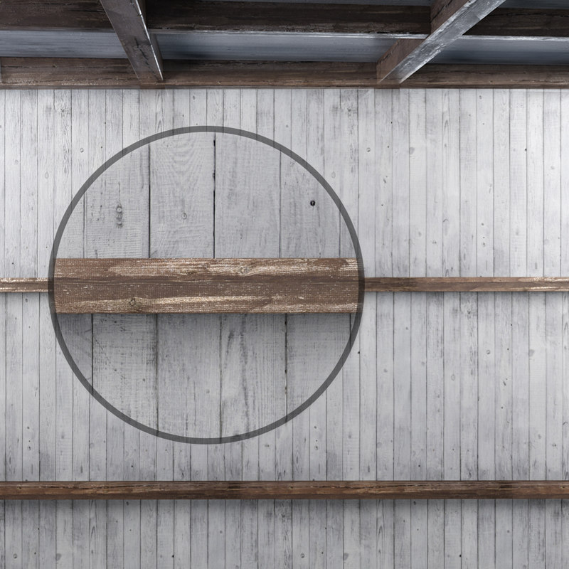 ceiling beams 3D model