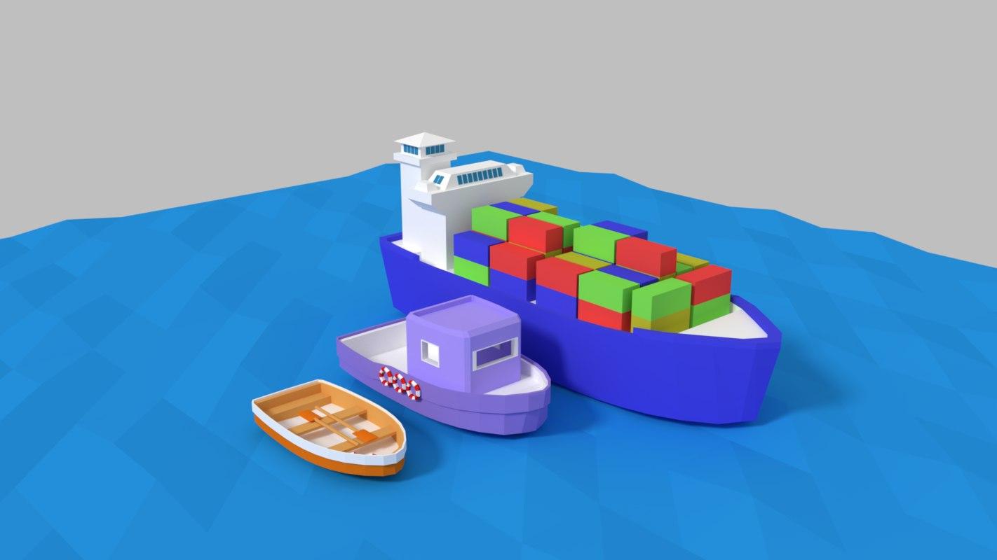 3D ship pack